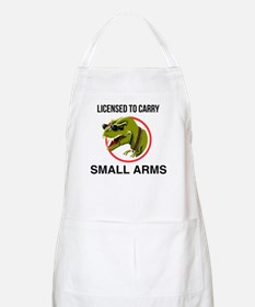 T-Rex licensed to carry small arms Apron