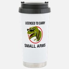 T-Rex licensed to carry small arms Travel Mug