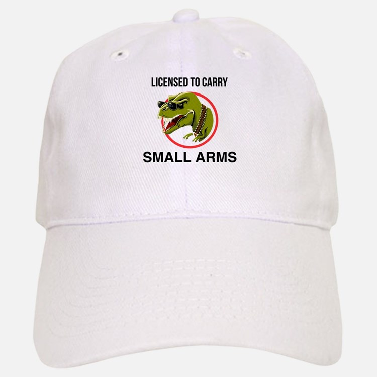 T-Rex licensed to carry small arms Baseball Baseball Baseball Cap