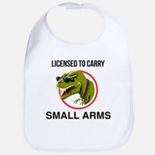 T-Rex licensed to carry small arms Bib