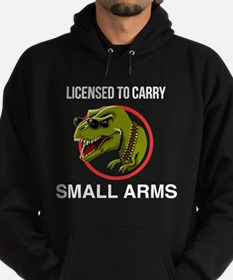 T-Rex licensed to carry small arms Hoody