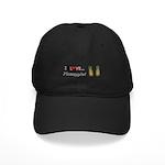 I Love Pineapple Black Cap