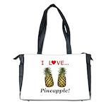 I Love Pineapple Diaper Bag