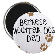 Funny Bernese mountain dog Magnet