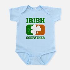 Irish Godfather Shamrock Flag Body Suit