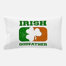 Irish Godfather Shamrock Flag Pillow Case