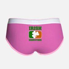 Irish Godfather Shamrock Flag Women's Boy Brief