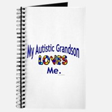 My Autistic Grandson Loves Me Journal