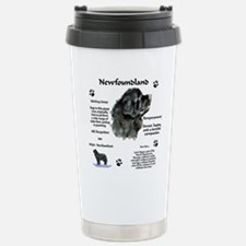 Cute Newfy Travel Mug