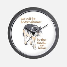 WE WILL BE KNOWN Wall Clock