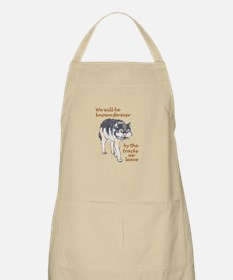 WE WILL BE KNOWN Apron