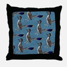 ROADRUNNERS SKY BLUE Throw Pillow