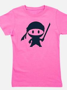 Funny Ninja in Girl's Tee