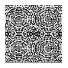 SACRED HOOPS Tile Coaster