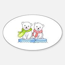 POLAR BEAR CUBS Decal