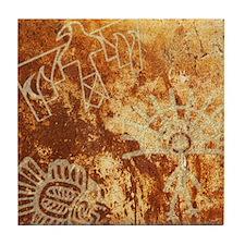 PETROGLYPHS Tile Coaster