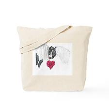 Cute Gypsy vanner horse Tote Bag