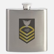 Unique Coast guard chief petty officer Flask