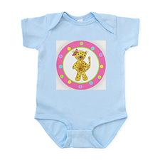 Cute Cheetah kids Infant Bodysuit