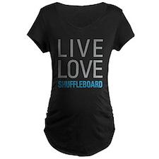 Shuffleboard Maternity T-Shirt