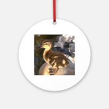 Ducks Round Ornament
