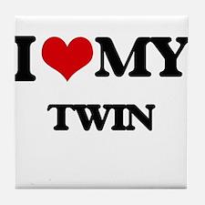 I love my Twin Tile Coaster