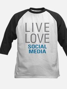 Social Media Baseball Jersey