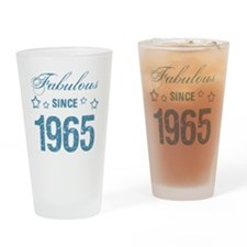 Fabulous Since 1965 Drinking Glass