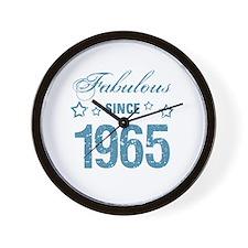 Fabulous Since 1965 Wall Clock