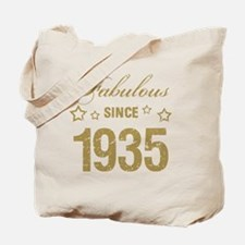 Fabulous Since 1935 Tote Bag