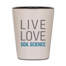 Soil Science Shot Glass