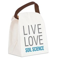 Soil Science Canvas Lunch Bag