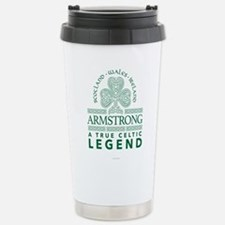 Armstrong, A True Celti Stainless Steel Travel Mug