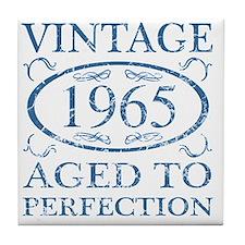 Vintage 1965 Tile Coaster