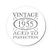 Vintage 1955 Cork Coaster