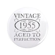 """Vintage 1955 3.5"""" Button"""