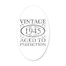 Vintage 1945 Oval Car Magnet