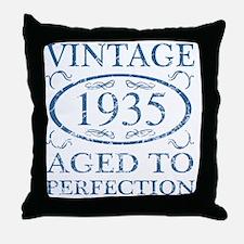 Vintage 1935 Throw Pillow