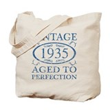 80th birthday Canvas Bags