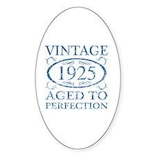 Vintage 1925 Decal