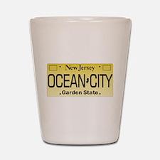 Ocean City NJ Tag Giftware Shot Glass