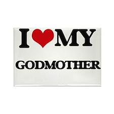 I love my Godmother Magnets