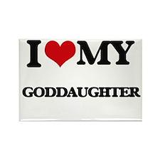 I love my Goddaughter Magnets