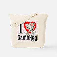 I Love Gambling Tote Bag