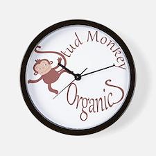 Stud Monkey Organics Wall Clock