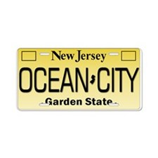 Ocean City NJ Tag Giftware Aluminum License Plate