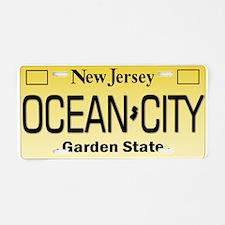 Ocean City NJ Tag Giftware Aluminum License Plate