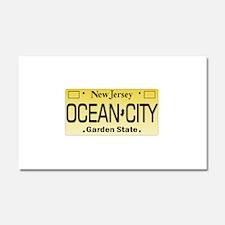 Ocean City NJ Tag Giftware Car Magnet 20 x 12
