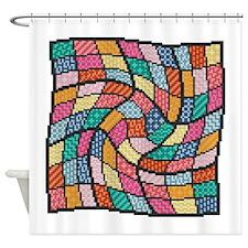 Unique Sudoku Shower Curtain