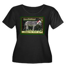 Helaine's Zebra Christmas T